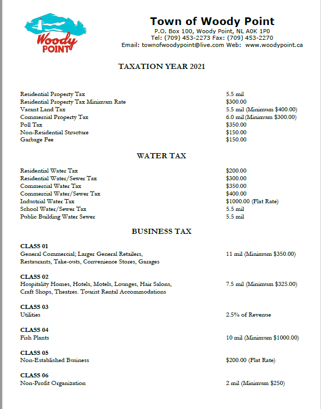 2021 Tax page 1